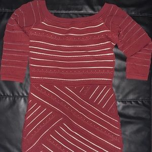 Bailey 44 Darcy BodyCon Garnet Dress
